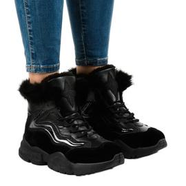 Sneakers nere isolate LS-2062 nero