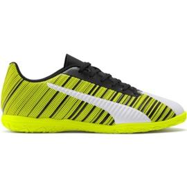 Scarpe da calcio Puma One 5.4 It M 105654 04 giallo bianco, nero, giallo