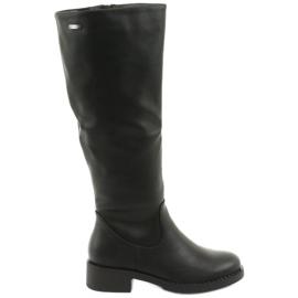 Stivali sul fondo spesso Sergio Leone 280 nero