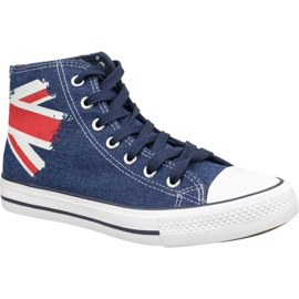 Scarpe Lee Cooper High Cut 1 LCWL-19-530-041 blu