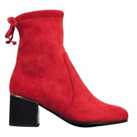 Goodin Stivali rossi alla moda rosso