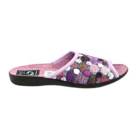 Pantofole infradito 3D Adanex viola