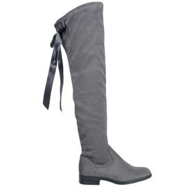 Seastar Stivali alti alla moda grigio
