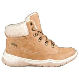 Arrigo Bello Calde scarpe invernali marrone