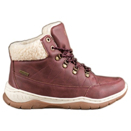 Arrigo Bello Calde scarpe invernali rosso