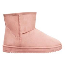 SDS Mukluki in polvere rosa
