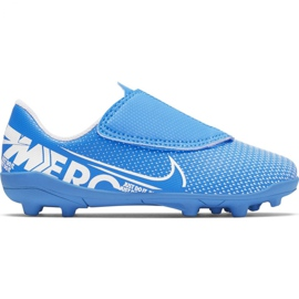 Scarpe da calcio Nike Mercurial Vapor 13 Club Mg PS (V) Jr AT8162 414 blu blu