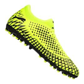 Scarpe da calcio Puma Future 4.4 Mg Jr 105697-03 giallo