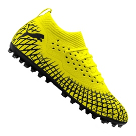 Scarpe da calcio Puma Future 4.2 Netfit Mg M 105681-02 giallo