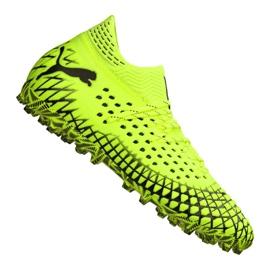 Scarpe da calcio Puma Future 4.1 Netfit Mg M 105678-03 giallo giallo