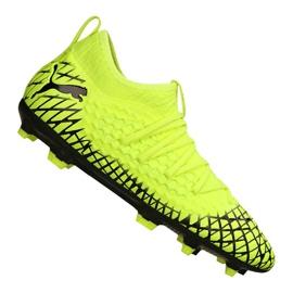 Scarpe da calcio Puma Future 4.3 Netfit Fg / Ag Jr 105693-03 giallo giallo