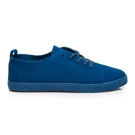 SDS Sneakers stringate blu
