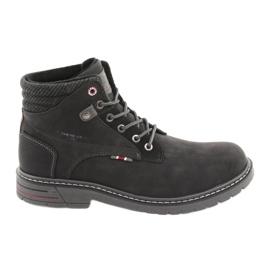 Scarpe da uomo American club RH35 nere nero