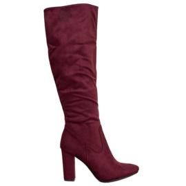 Eleganti stivali VINCEZA rosso