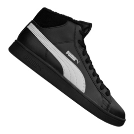 Scarpe Puma Smash V2 Mid L Fur Jr 366895-05 nero
