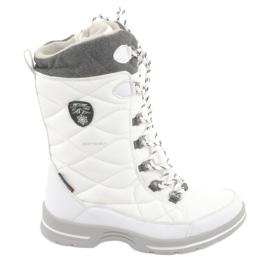 Stivali da neve con membrana American Club SN08 bianco