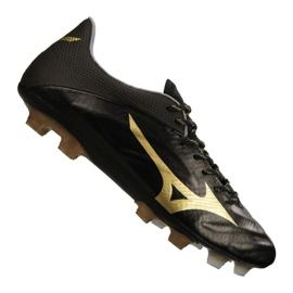 Scarpe da calcio Mizuno Rebula 2 V1 prodotte in Giappone Fg P1GA187-950 nero nero, oro
