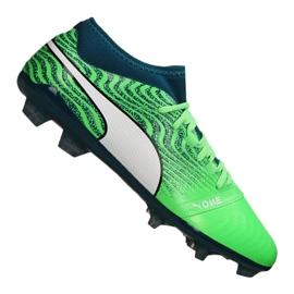 Scarpe da calcio Puma One 18.2 Fg M 104533-04 verde verde