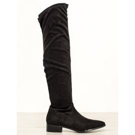 Seastar Stivali casual sopra il ginocchio nero