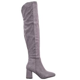 Seastar Stivali alti eleganti grigio