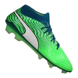 Scarpe da calcio Puma One 18.1 Fg M 104869-03 verde verde
