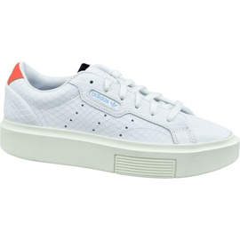Scarpe Adidas Sleek Super W EF1897 bianco bianco