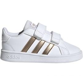 Scarpe Adidas Grand Court I Jr EF0116 bianco