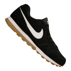 Scarpe Nike Md Runner 2 Suede M AQ9211-001 nero