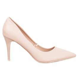 Kylie Pompe beige marrone