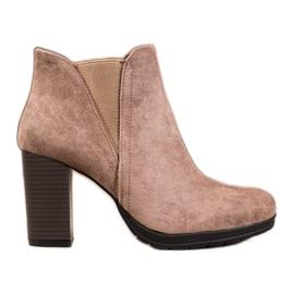 SHELOVET Stivaletti alla caviglia marrone