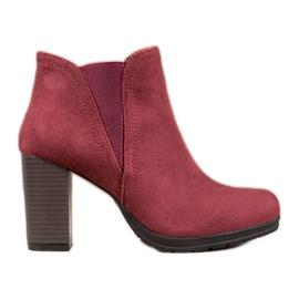 SHELOVET Stivaletti alla caviglia rosso