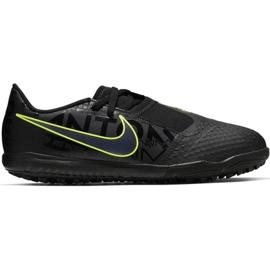 Scarpe da calcio Nike Phantom Venom Academy Tf Jr AO0377 007 nero, verde nero