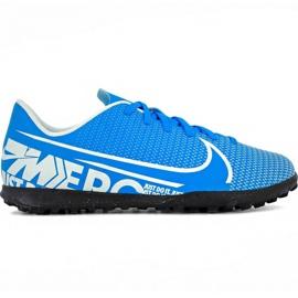 Scarpe da calcio Nike Mercurial Vapor 13 Club Tf Jr AT8177 414 blu