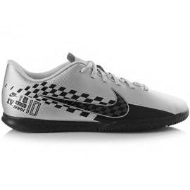 Scarpe da calcio Nike Mercurial Vapor 13 Club Neymar M Ic AT7998 006 grigio nero, grigio / argento
