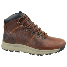 Scarpe Timberland World Hiker Mid M A213Q marrone