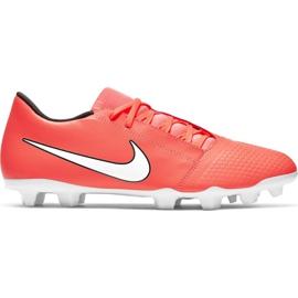 Scarpe da calcio Nike Phantom Venom Club Fg M AO0577 810 bianco, arancione arancione