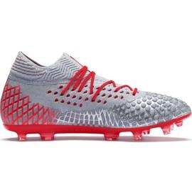 Scarpe da calcio Puma Future 4.1 Netfit Fg Ag M 105579 01 grigio