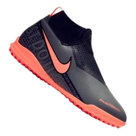 Scarpe da calcio Nike Phantom Vsn Academy Df Tf Jr AO3292-080 nero
