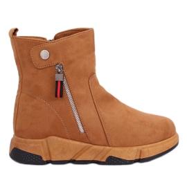 Sneakers cammello SJ1938 Cammello marrone