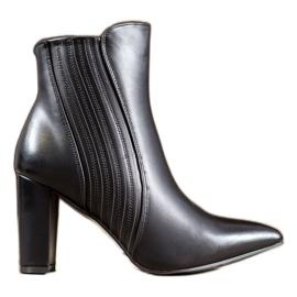 SHELOVET Stivali neri sexy nero