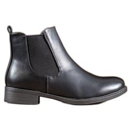 SHELOVET Stivali con cerniera classici nero