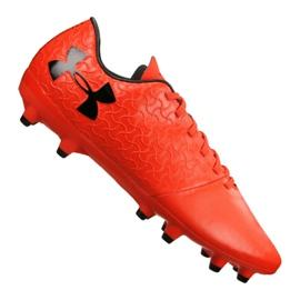 Scarpe da calcio Under Armour Magnetico Select Fg M 3000115-600 arancione