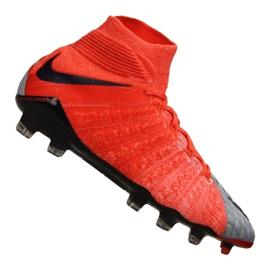 Scarpe da calcio da donna Nike Hypervenom Phantom 3 Df Fg M 881545-058 rosso