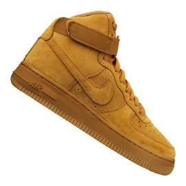 Scarpe Nike Jr Air Force 1 High Lv 8 Gs Jr 807617-701 giallo