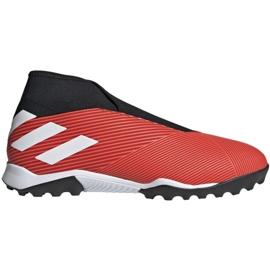 Scarpe da calcio Adidas Nemeziz 19.3 Ll Tf M G54686 nero, rosso