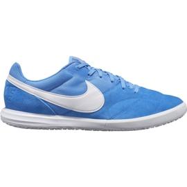 Scarpe da calcio Nike Premier Ii Sala Ic M AV3153 414 bianco, blu