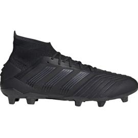 Scarpe da calcio adidas Predator 19.1 Fg M nero