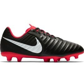 Scarpe da calcio Nike Tiempo Legend 7 Club Mg Jr AO2300 006 nero