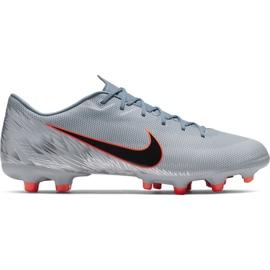 Scarpe da calcio Nike Mercurial Vapor 12 Academy Mg M AH7375 408 grigio