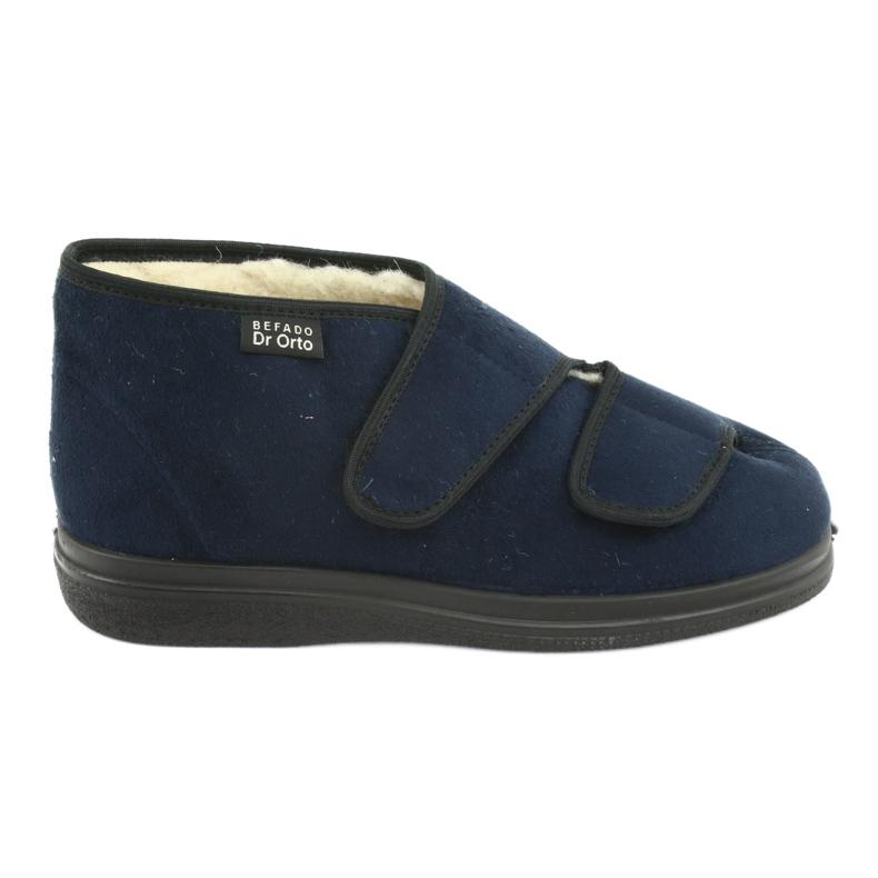 Scarpe da donna Befado pu 986D010 blu navy